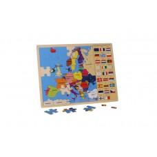 Puzzle Banderas de Europa