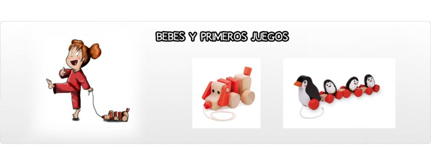 BEBES Y PRIMEROS JUEGOS